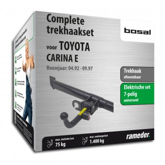 Bosal trekhaak, complete set