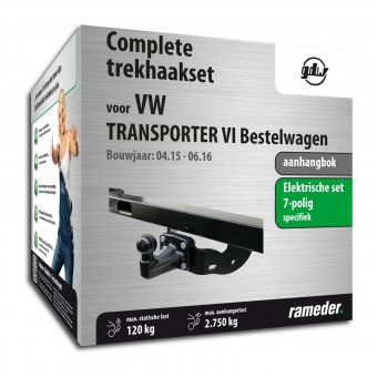 GDW aanhangbok incl. elektrische set 7polig specifiek