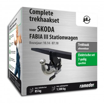 GDW Trekhaak afneembaar incl. elektrische set 7polig specifiek