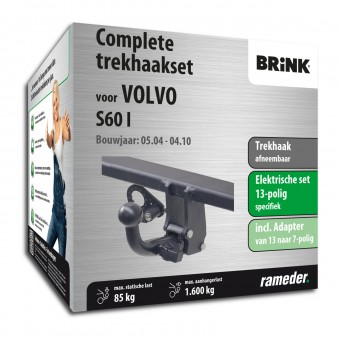 Brink Trekhaak afneembaar incl. elektrische set 13polig specifiek + adapter