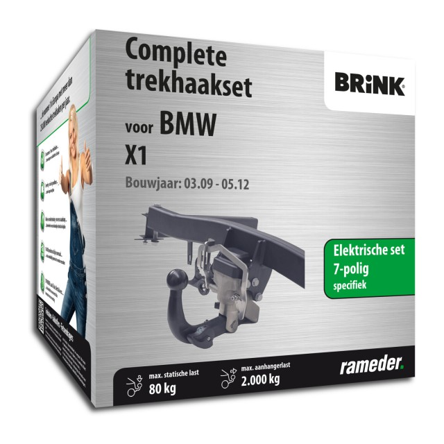 Brink Trekhaak zwenkbaar incl. elektrische set 7polig specifiek