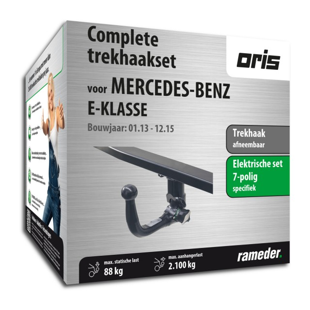 Oris Trekhaak afneembaar incl. elektrische set 7polig specifiek