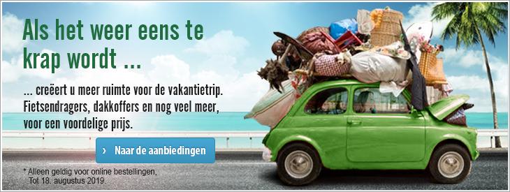 Als het weer eens te krap wordt - uw vervoersoplossingen voor de vakantie.