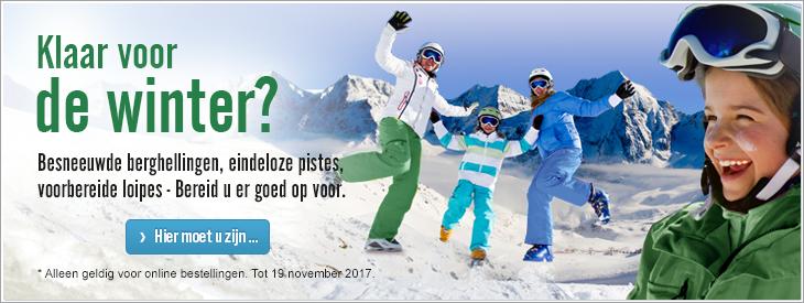 Klaar voor de winter?  Besneeuwde berghellingen, eindeloze pistes, voorbereide loipes - Bereid u er goed op voor.