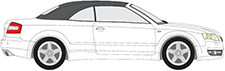A4 Cabriolet (8H7, B6, 8HE, B7)